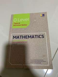 Olevel Topical Revision Notes:Mathematics