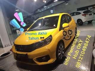 NEW Honda Brio Promo akhir tahun !!!