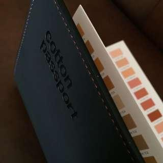 Pantone Cotton Colour Guide Passport (NEW) / Fashion, Home & Interiors