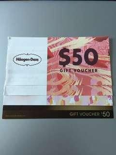 包郵 Haagen Dazs $200 Gift Voucher 現金券