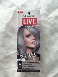 Hair Colour Pastel GREY