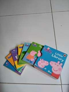 Peppa pig little library (6 storybooks )