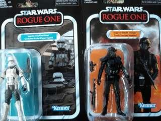 Star Wars Vintage Collection Imperial Tank Driver & Death Trooper