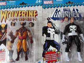 Marvel Vintage Collection - Wolverine & Punisher