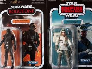 Star Wars Vintage Collection Death Trooper & Rebel Trooper