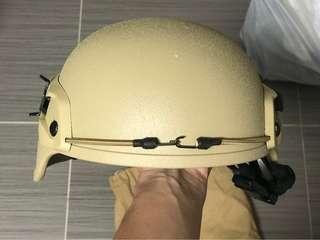 Mich 2000 hemlet 沙色頭盔