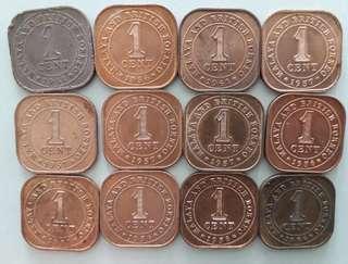 Malaya QE2 1ct 12pcs cheap....