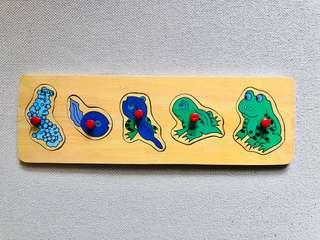 Frog Life Cycle Wooden Puzzles
