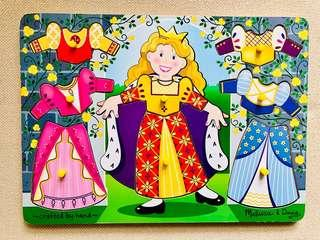 Melissa & Doug Wooden Princess Dress-Up