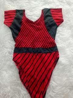 Baju renang / swimwear / swimsuit merah