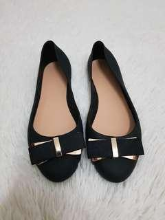 (NEW) Te Chi Chi Jelly Flat Shoes