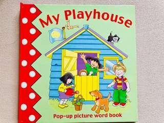 My Playhouse pop-up picture word book