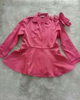 Blazer/ jaket / luaran pink