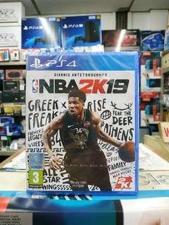 🆕 PS4 NBA 2K19