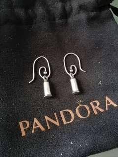 Pandora Silver Retired Earrings