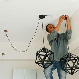 Installation of Drop Lights