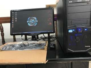 inTeL core i5-3470s CompLete deskTop for Gaming