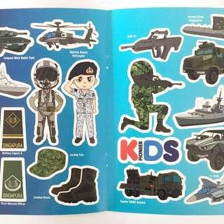 Pioneer Kids Stickers