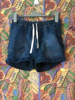 Kmart elastic tie up shorts size 8