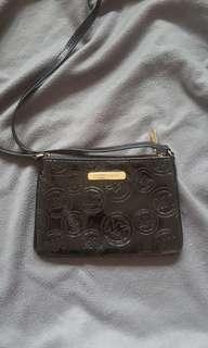 Authentic Michael Kors Leather Crossbody bag