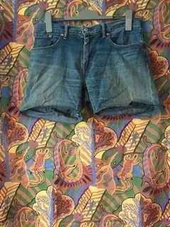 "Levi's cut off shorts 32"""