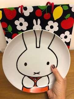 日本Miffy 60週年 X Lawson絕版瓷碟