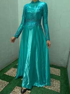 Preloved 4pcs dress panjang kualitas butik