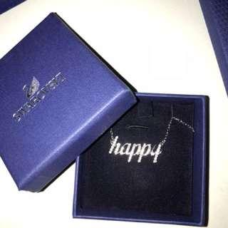 New Swarovski Necklace Comes with Cleaning Kit