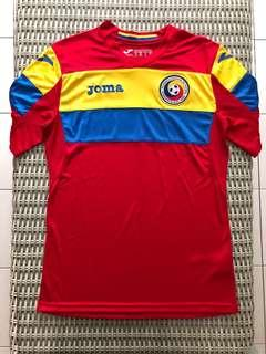 Joma💯% Authentic Romania home jersey for SGD$37 (size S)