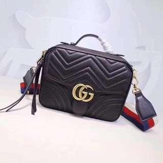 Gucci GG Marmont Matelasse Handle Bag