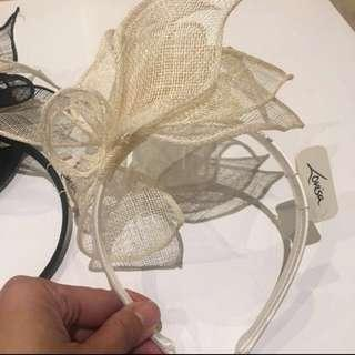 Looking for a pretty fascinator cream colour meetup parramatta