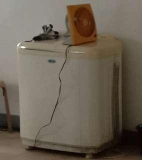Dual tub washing machine