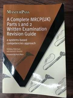 A complete MRCP(UK) part 1 and 2 written examination revision guide