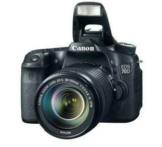 70D Canon Kredit