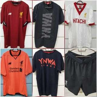 Liverpool Tshirts and Jerseys