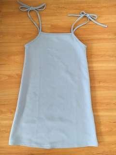 🌟baby blue dress