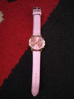 Jam tangan pink geneva #HBDSale