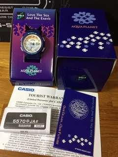 Japan Version Casio Baby-G x ICERC Love the Sea and the Earth Limited Edition Collaboration Watch