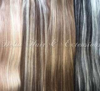 100% European REMY Human Hair extensions -Clip Ins and Tape Ins
