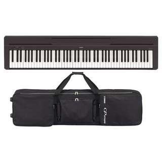 Yamaha P45 digital piano + $1 88-key padded gig bag with wheels (worth $165) (while stocks last)