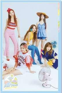 Red Velvet Summer Magic Limited Edition Poster