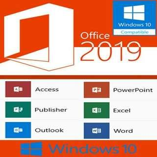 Office pro 2019 for 1 pc WINDOW /MAC GENUINE MURAH #limited #post1111