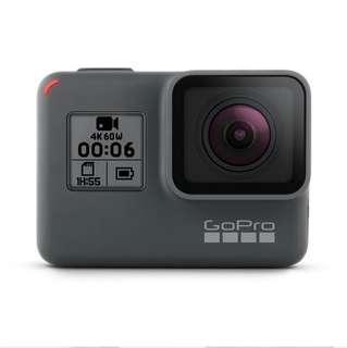 🚚 GoPro Hero 6 Black (Rental)