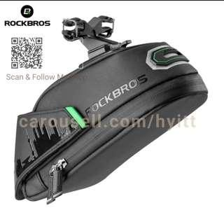 🚚 RockBros Bicycle Saddle bag 2018 latest model