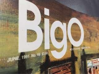BIGO magazine 'Banned in the USA' June 1991 edition