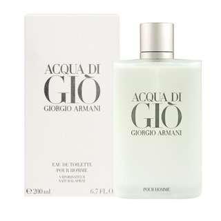 Ori acqua di gio Giorgio Armani 200ml