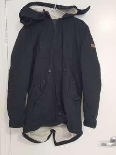 Sampson & taylor navy coat