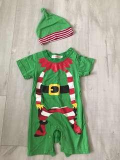 Christmas Santa's Elf Outfit