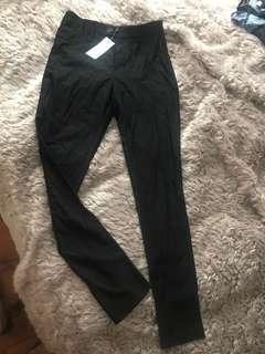 BNWT Black work style leggings