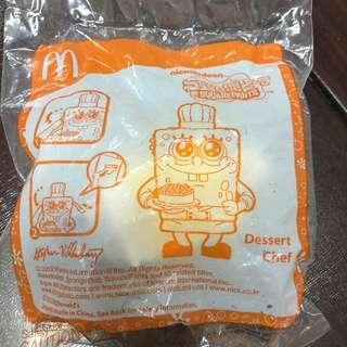 McDonald's happy meal toys spongebob